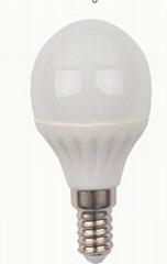 P45 E14 3W Ceramic  LED Globe bulb