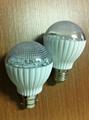 3W SMD E27 B22 A60 LED 燈泡 3