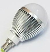 CE GS E14 3W  Aluminm LED Globe bulbs