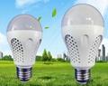 5W 7W A60 E27 plastic LED Bulb
