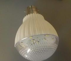B22 12V DC 3W plastic  E27 solar   led bulb