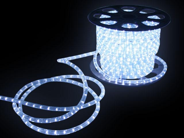 13mm 2 Wire Led Rope Light Super Lux 50m Or