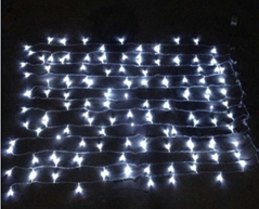 Warm White PVC LED Curtain Light/led ball light outdoor/warm white led fairy lig