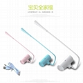 Rechargeable led desk lamp for student 2W USB LED Reading lamp led table lamp,r 13