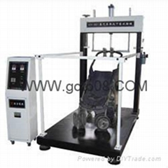 Raised under the pressure of baby carriages and durable testing machine