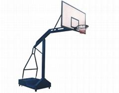 有轮移动篮球架