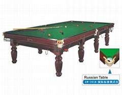 國際標準司諾克桌球台