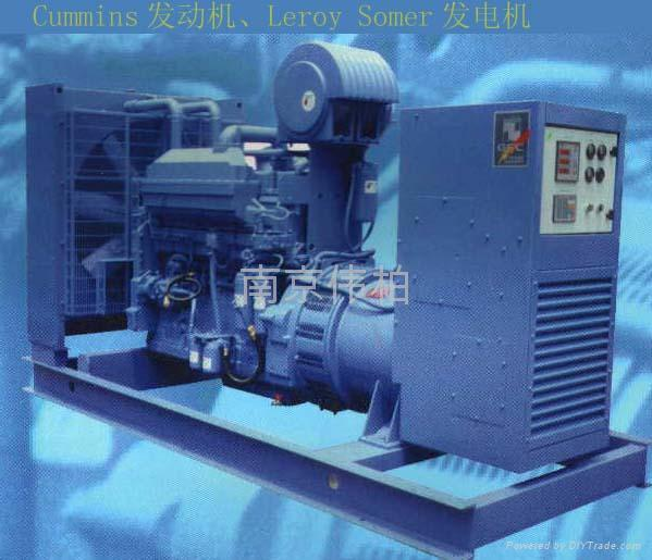 供应康明斯沃尔沃柴油发电机组 1