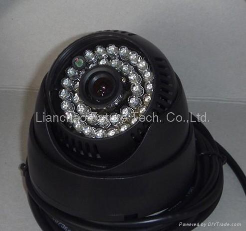 RS232 Serial Camera (36PCS LED 12V/24V)(LCF-23IRCN)