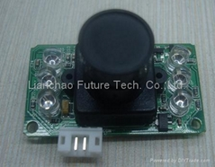 RS232 Serial Camera Module with IR Function