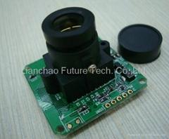 2MP(1600X1200) Serial RS232 JPEG CAMERA