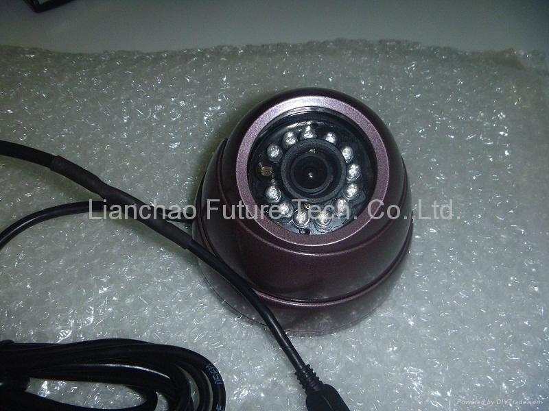 IR Dome JPEG Camera with Metal Case