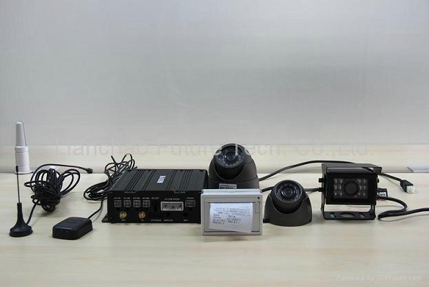 (GPS+WIFI)4CH FULL D1 Mobile DVR