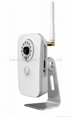 1.0MP HD Home-use WIFI IR IP Camera with Pir intercom,alarm