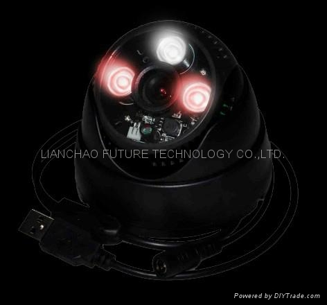 TF Card USB camera with Black and White LEDs