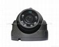 Mini dome camera with metal case