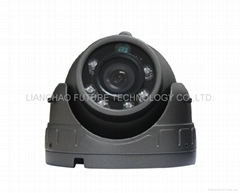 Mini dome camera with metal case