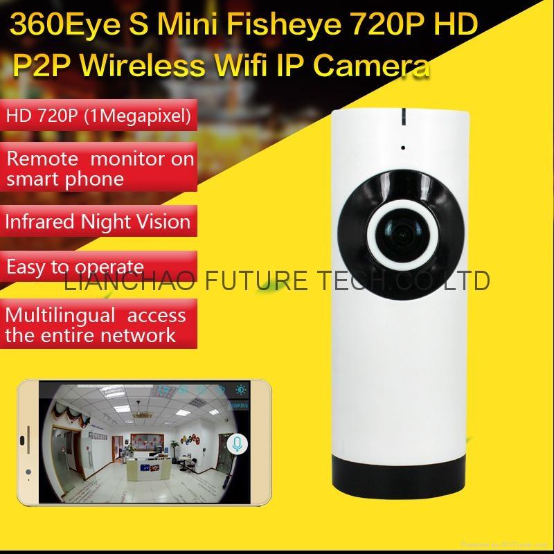 Fisheye P2P WIFI IP Camera 1