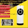 Fisheye P2P WIFI IP Camera