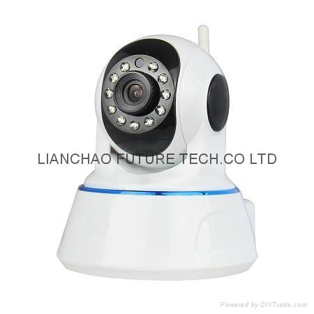 P2P IR Wireless IP camera with Audio 1