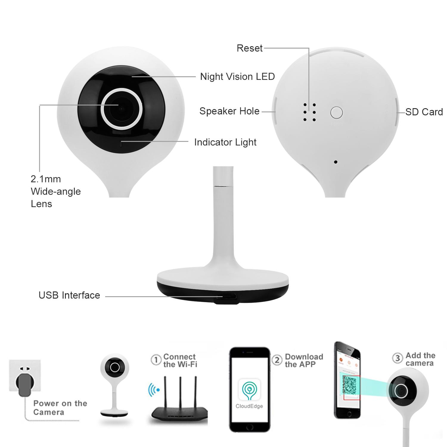 1080P House Monitor Camera - LCF-HD1080PA - LCF (China