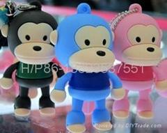 Monkey style usb drive pen drive memory stick