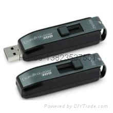 Kingston DT300, push and pull, gift usb flash drive