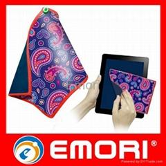 mini double sides microfiber towel cloth