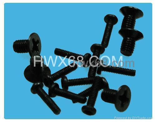 工厂直销小螺丝,非标准螺丝,定位螺丝,注塑螺丝 4