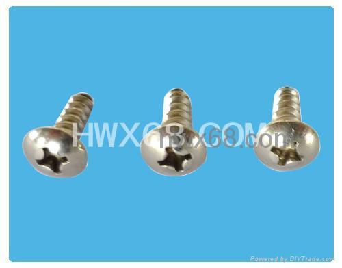 工厂直销小螺丝,非标准螺丝,定位螺丝,注塑螺丝 5