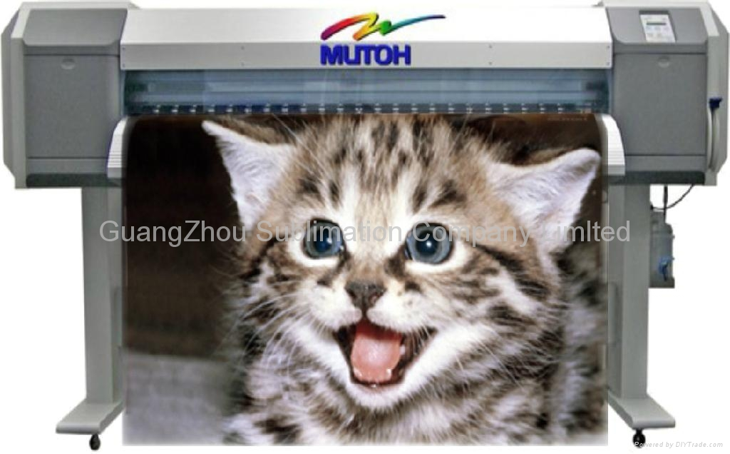 Mutoh VJ1604 sublimation printer  for 120cm size