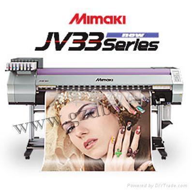 原装进口 日本MIMAKI JV33-160第五代喷头打印机 双4色供墨 2