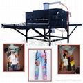 flatbed heat press tranfer machine