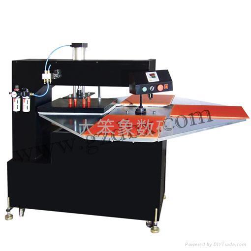 半自動雙工位搖頭燙畫機 1