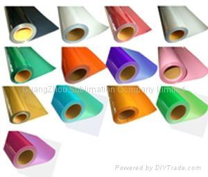 PVC flex heat transfer film for t-shirt 1