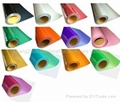 PVC flex heat transfer film for t-shirt