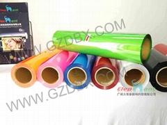 PU heat transfer film for t-shirt, cotton fabric