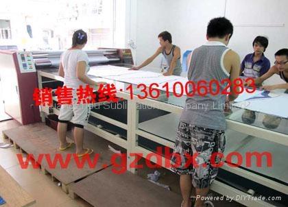 Rotary Transfer fabric printing Machine 1