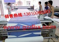 Rotary textile heat tran