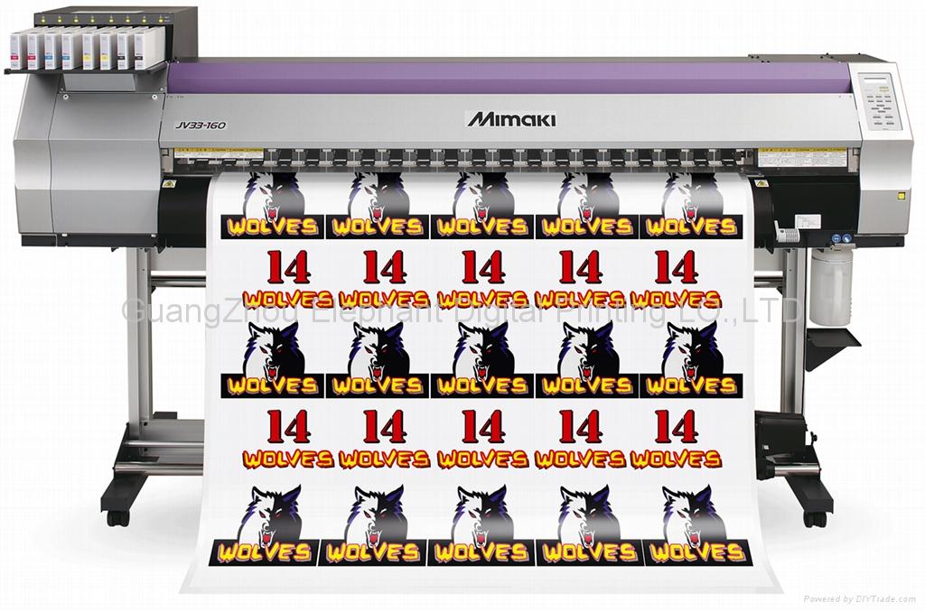 MIMAKI JV33热升华打印机 1