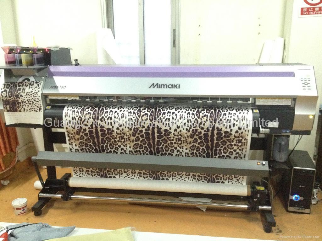 毯带式油加温印花机 3
