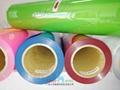 Flock heat transfer vinyl for polyester fabric 2
