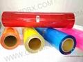 PU heat transfer film/vinyl for cotton fabric 2