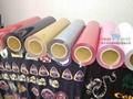 PU heat transfer film/vinyl for cotton fabric 3