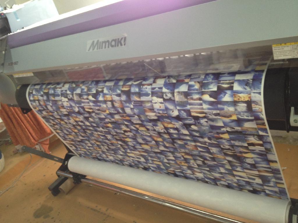 MIMAKI JV33热升华打印机 3