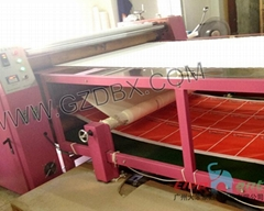Roll to Roll Heat transfer machine  for garment