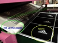 Roll to Roll Heat transfer printing machine for fabric 3