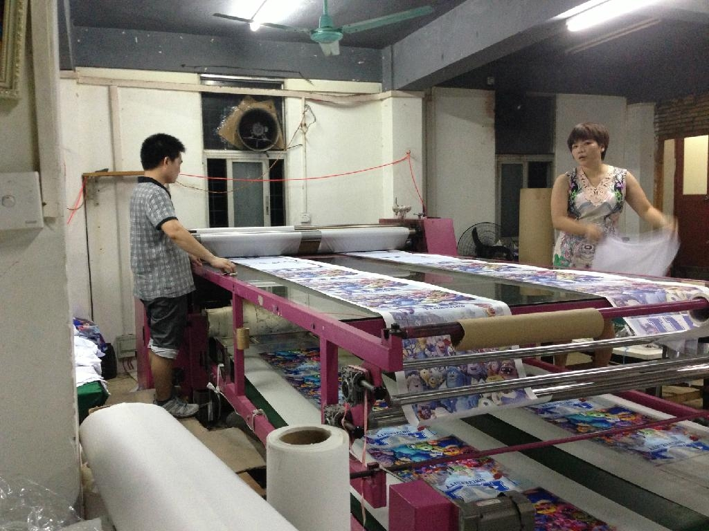 Roll Multifunction Heat Press Machine for textile 2