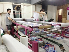 Textile roll and sheet Heat transfer