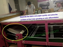 Roller Sublimation heat